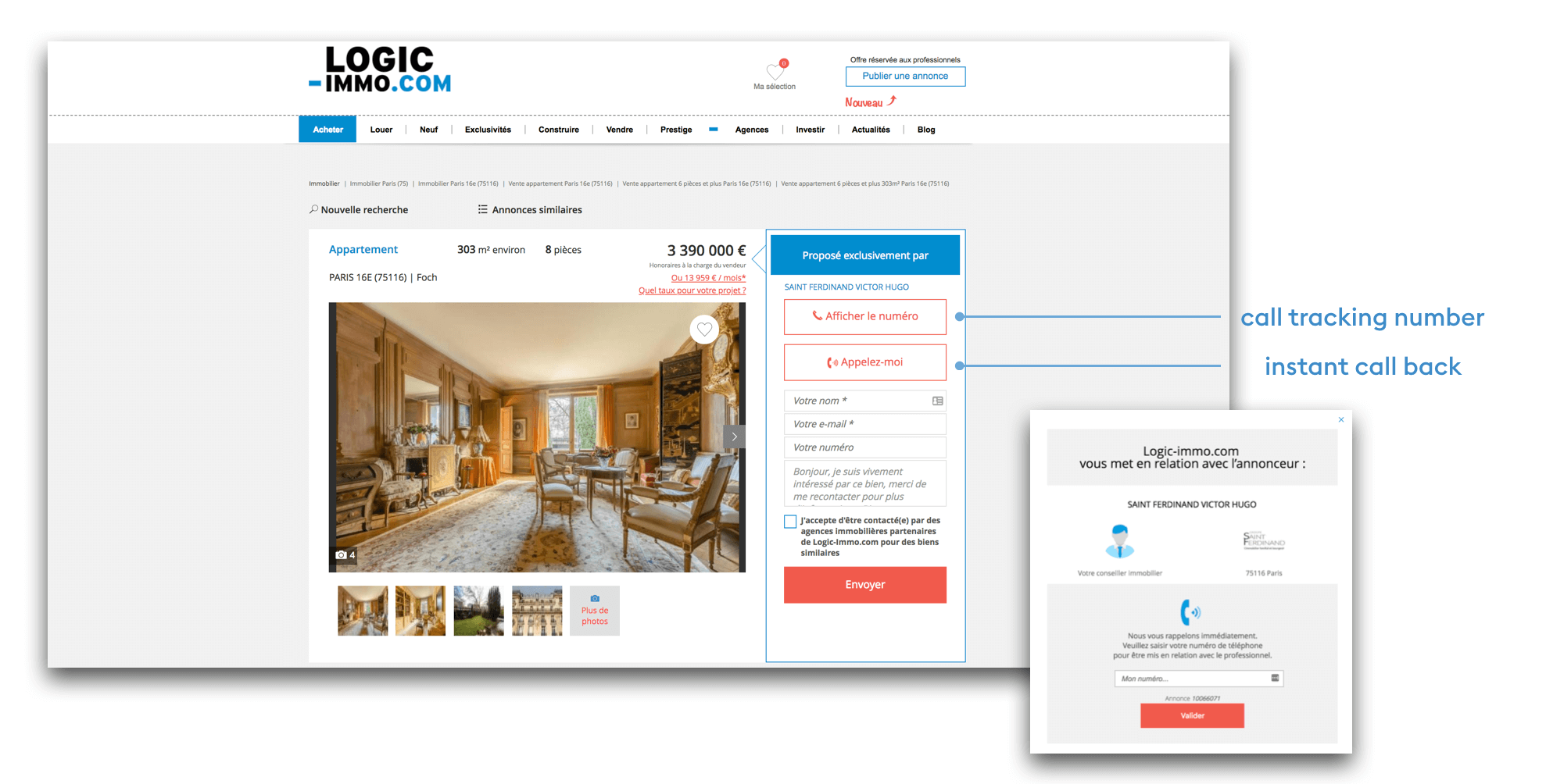 How Logic-Immo Improved Their Results with a 98% Recommendation Rate